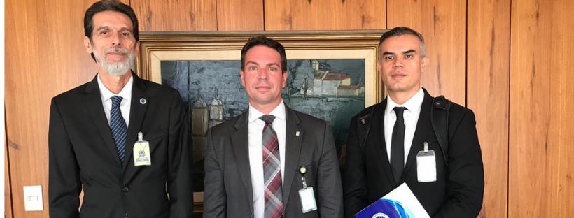 Reunião com Alexandre Ramagem, indicado para a diretoria da Abin