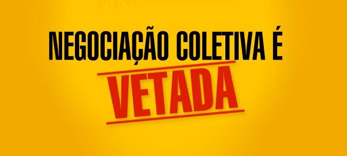 Presidente Temer veta negociação coletiva na administração pública