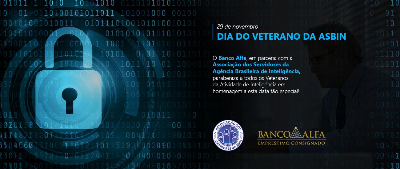 Banco Alfa parabeniza servidores pelo Dia do Veterano da Abin