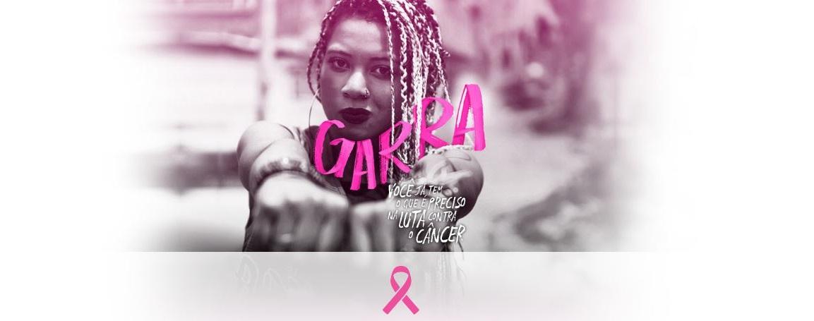 Outubro Rosa é o mês de conscientização para o controle do câncer de mama