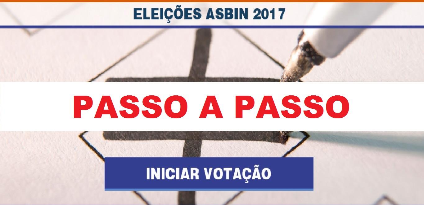 Eleições ASBIN: Passo a passo para votação na segunda-feira (13/11)